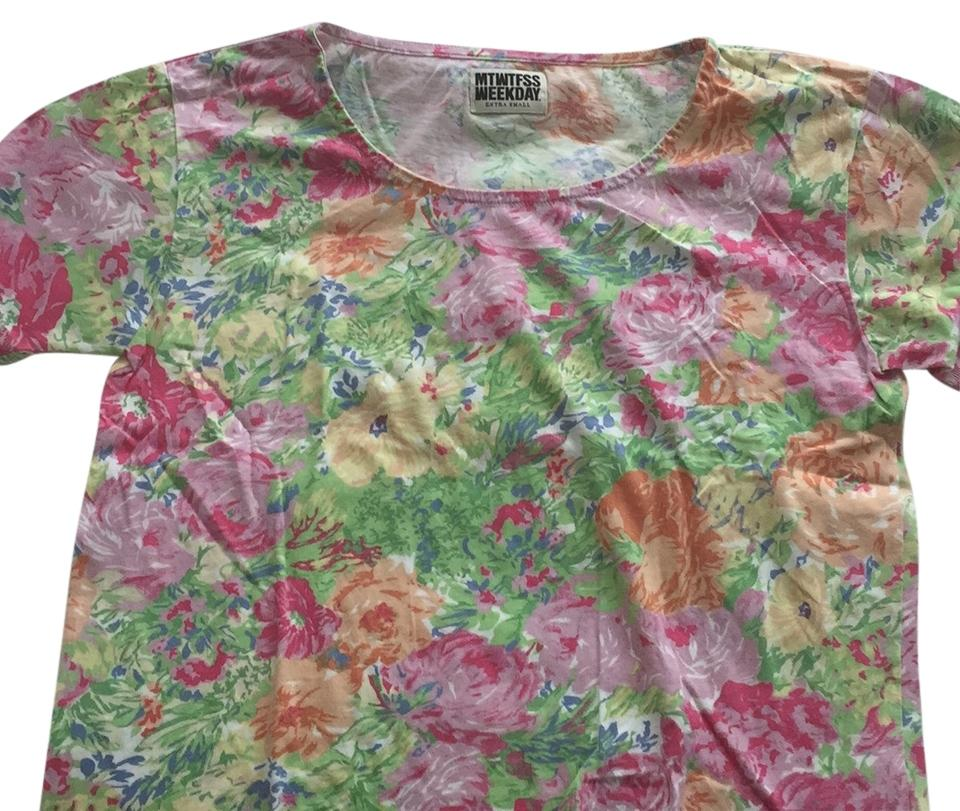 Weekday floral t-shirt