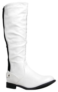 West Blvd White Boots