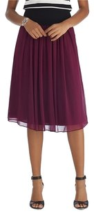 White House | Black Market Skirt Burgandy