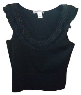 White House | Black Market Tank Ruffle Sweater