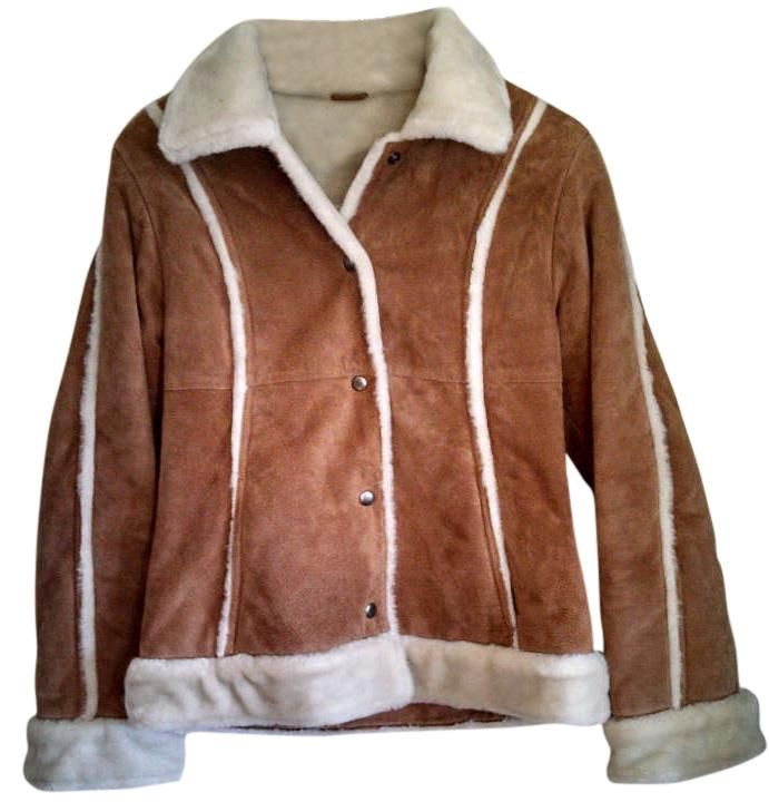 Wilson brown leather jacket