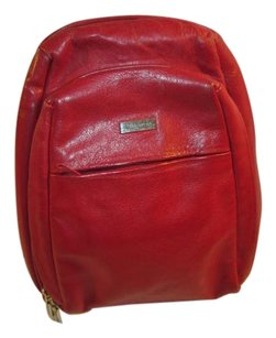 Wilsons Leather Monogram Vintage Backpack