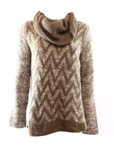 Wooden Ship Acrylic Cowl-neck Long-sleeve Sweater