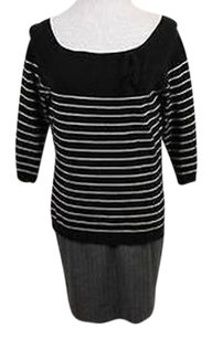 Worth Womens Striped Sweater