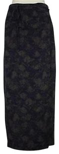 Worth Womens Printed Maxi Skirt Multi-Color