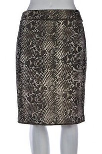 Worth Womens Pencil Skirt Beige