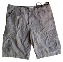 WRK Materials CO MENS CARGO SHORTS Cargo Shorts Railroad stripe blue