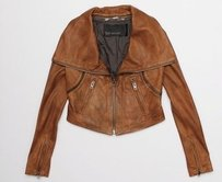 Yigal Azrouël Leather Motorcycle Jacket