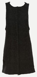 Yigal Azrouël short dress Black, Grey Shift Silhouette Wool Virgin Wool Sleeveless on Tradesy