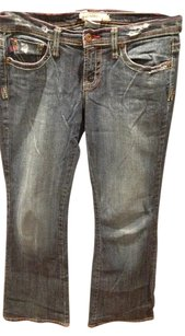 Z. Cavaricci Boot Cut Jeans-Dark Rinse
