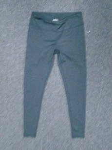 Zella Zella Gray Solid Stretchy Fitted Id Pocket Womens Athletic Pants 3385a